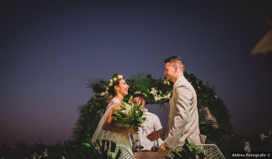 El matrimonio de Juan y Paulina en Cartagena, Bolívar