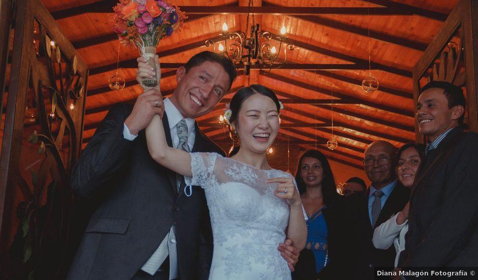 El matrimonio de Lee y Mario en Subachoque, Cundinamarca