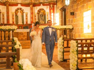El matrimonio de Magreth  y Iván