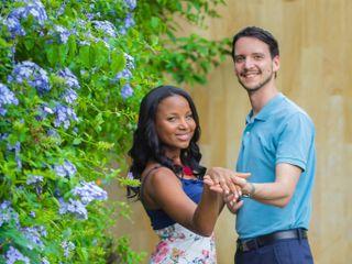 El matrimonio de Ivonne y Sebastienne 1