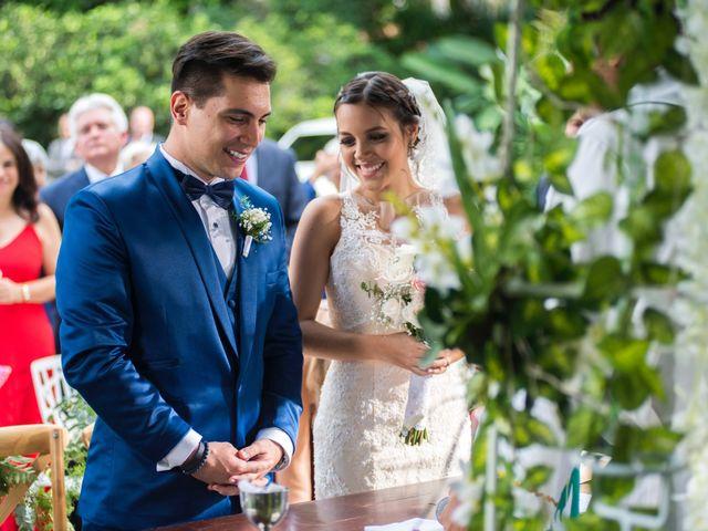 El matrimonio de Claudia y Sammy