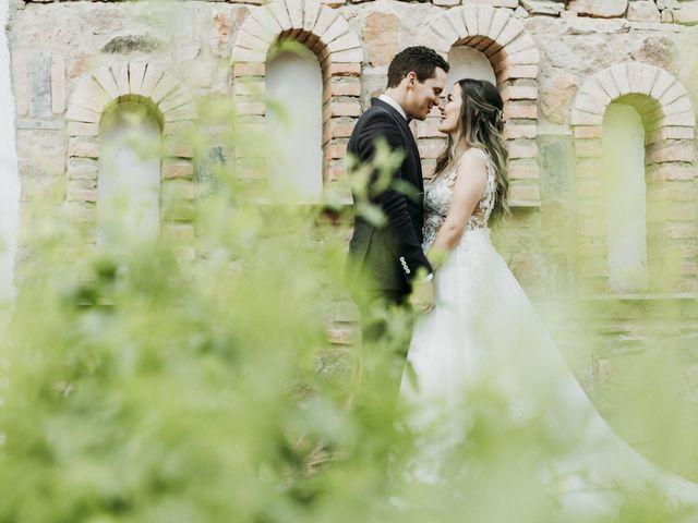 El matrimonio de Nicoll y Fernando