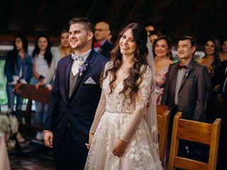 El matrimonio de María Alejandra  y David
