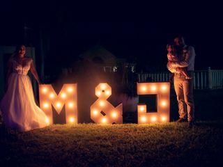 El matrimonio de Melissa  y Javier