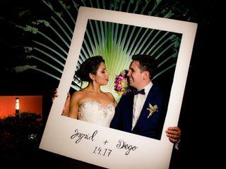 El matrimonio de Ingrid y Diego