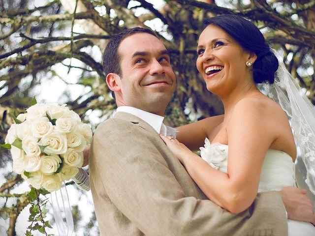 El matrimonio de Catalina y Mauricio