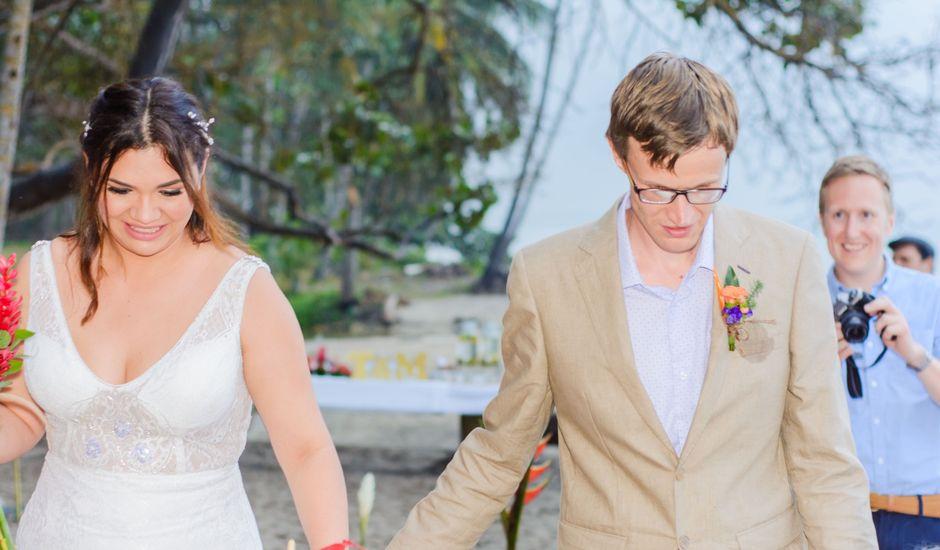El matrimonio de Thomas y Adriana  en Santa Marta, Magdalena