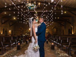 El matrimonio de Edna y Fernando