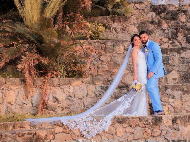 El matrimonio de María y Carlos