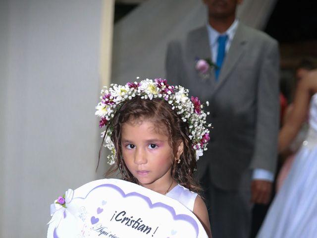 El matrimonio de Cristian y Catherine en Cartagena, Bolívar 10