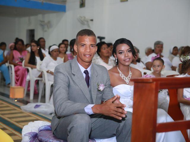 El matrimonio de Cristian y Catherine en Cartagena, Bolívar 15