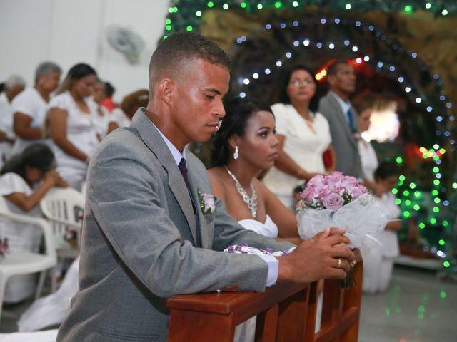 El matrimonio de Cristian y Catherine en Cartagena, Bolívar 23