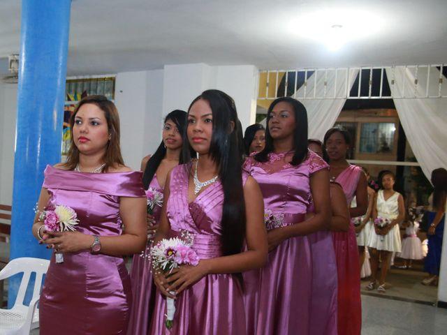 El matrimonio de Cristian y Catherine en Cartagena, Bolívar 6