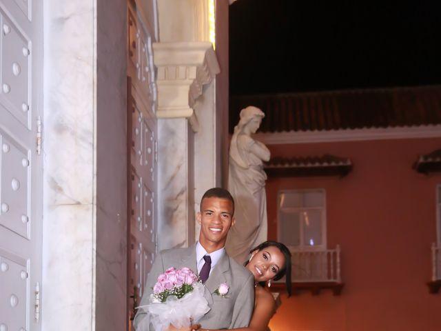 El matrimonio de Cristian y Catherine en Cartagena, Bolívar 4
