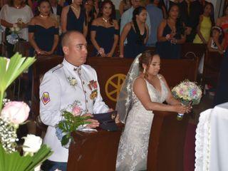 El matrimonio de Jefferson y Juliana