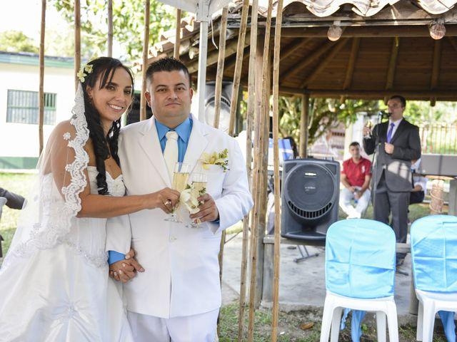El matrimonio de Adriana y Jonny