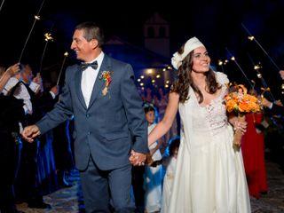 El matrimonio de Paola y Angel