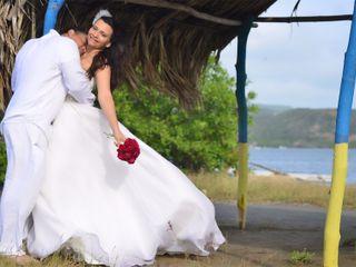El matrimonio de Indira y Mario