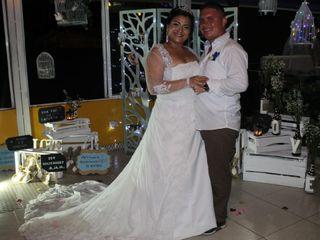 El matrimonio de Alexandra  y Julián David