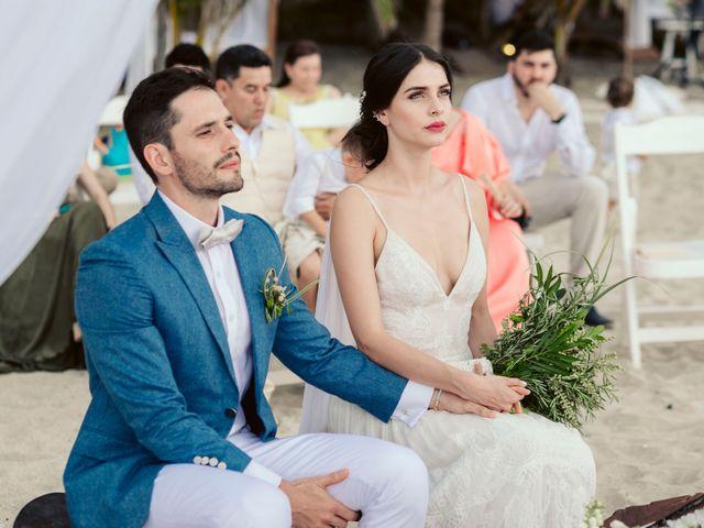 El matrimonio de Julian y Angie en Santa Marta, Magdalena 25