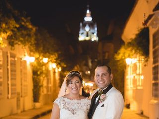 El matrimonio de Andrea Lozano  y Alvaro Amador  2