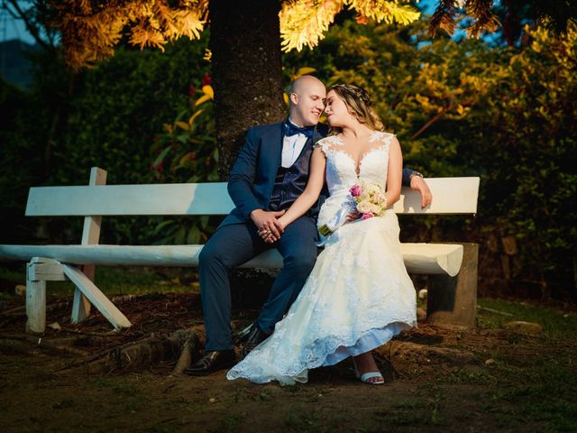 El matrimonio de Jessica y Christopher