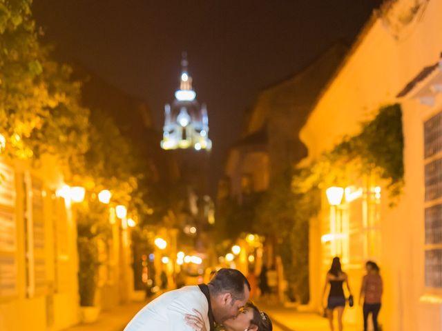 El matrimonio de Alvaro Amador  y Andrea Lozano  en Cartagena, Bolívar 34