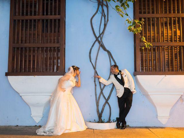 El matrimonio de Alvaro Amador  y Andrea Lozano  en Cartagena, Bolívar 35