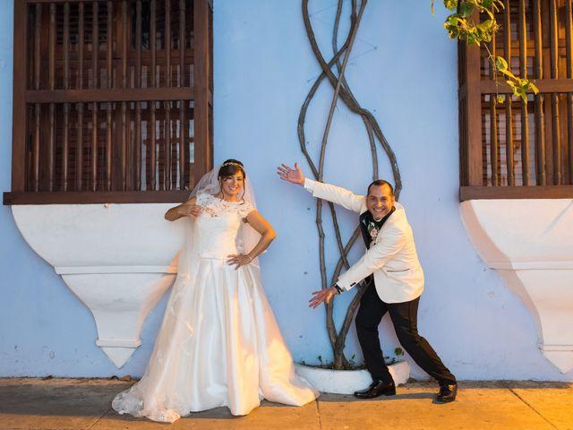 El matrimonio de Alvaro Amador  y Andrea Lozano  en Cartagena, Bolívar 36