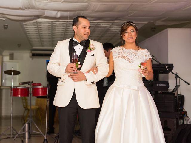 El matrimonio de Andrea Lozano  y Alvaro Amador