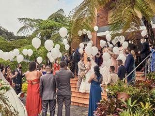 El matrimonio de Marcela  y Vargas  3