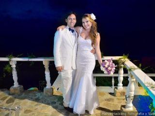 El matrimonio de Daniela y Vladimir