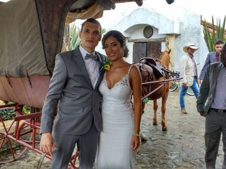 El matrimonio de Alexandra  y Felipe