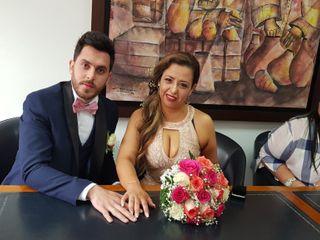 El matrimonio de Patricia y Óscar 1