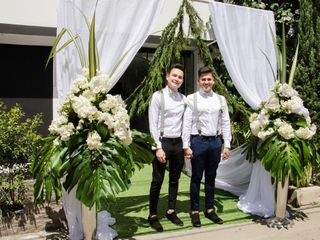 El matrimonio de Daniel y Richard