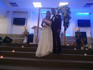 El matrimonio de Luisa  y Pedro  2