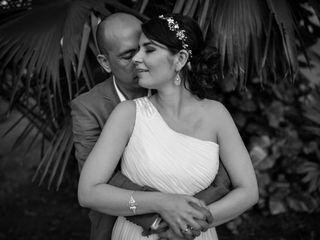 El matrimonio de Mónica y Ivan