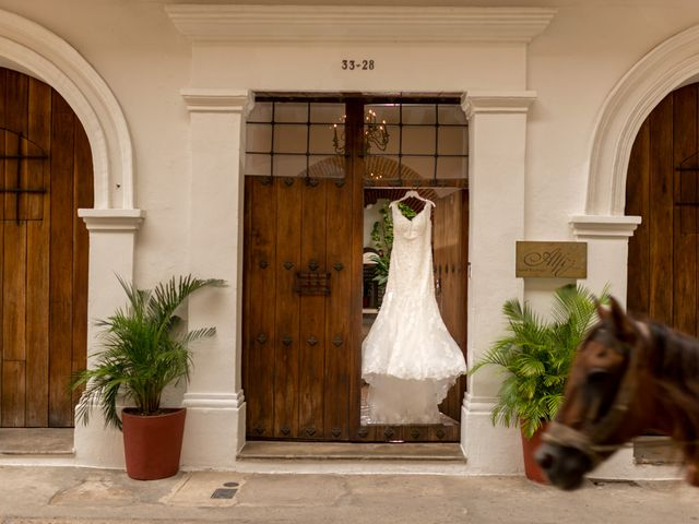 El matrimonio de Ramon y Laurent en Cartagena, Bolívar 12