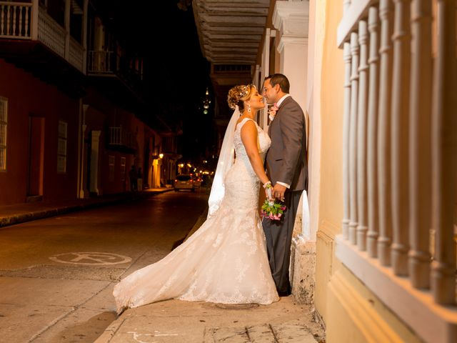 El matrimonio de Ramon y Laurent en Cartagena, Bolívar 52