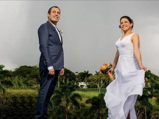 El matrimonio de Luis Fer  y Lucía