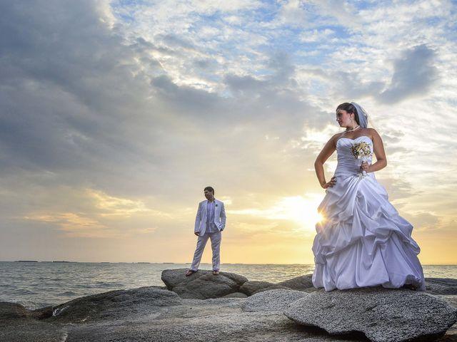 El matrimonio de Christian y Juliana en Santa Marta, Magdalena 23