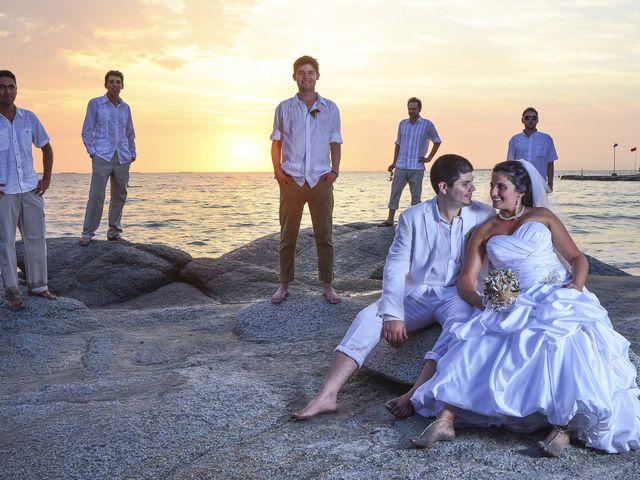 El matrimonio de Christian y Juliana en Santa Marta, Magdalena 28