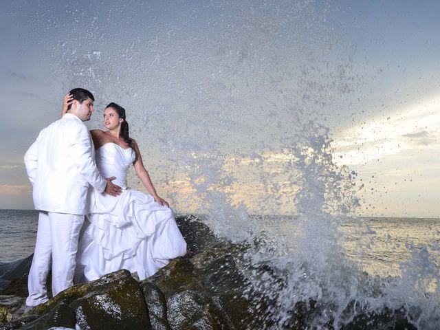 El matrimonio de Christian y Juliana en Santa Marta, Magdalena 47