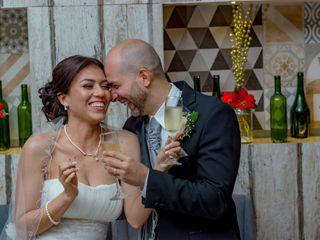 El matrimonio de Leo y Yeny