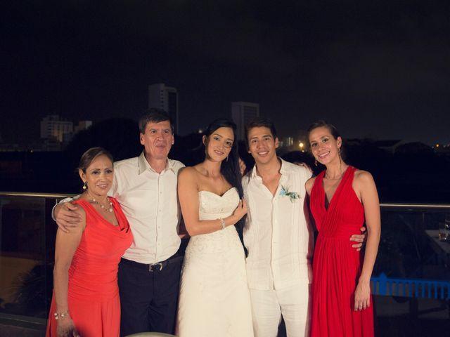 El matrimonio de Juan y Angie  en Cartagena, Bolívar 36
