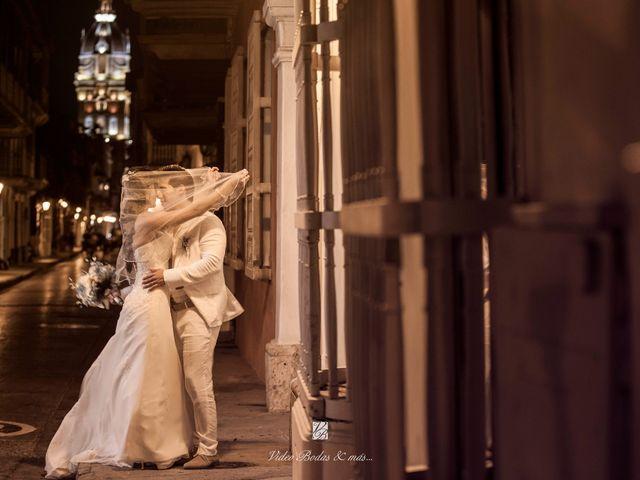 El matrimonio de Juan y Angie  en Cartagena, Bolívar 1