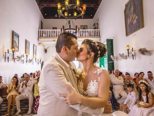 El matrimonio de Edgard y Paola en Cartagena, Bolívar 16