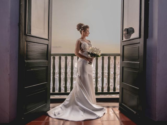 El matrimonio de Edgard y Paola en Cartagena, Bolívar 1
