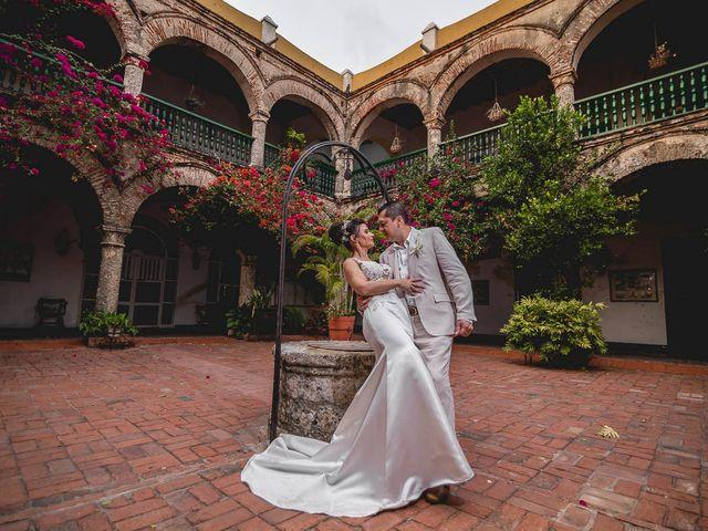 El matrimonio de Edgard y Paola en Cartagena, Bolívar 2