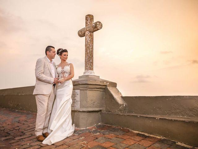 El matrimonio de Edgard y Paola en Cartagena, Bolívar 22